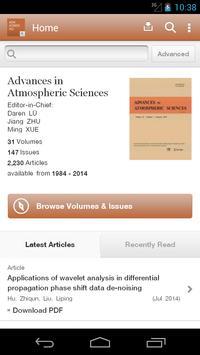 Advances Atmospheric Sciences poster