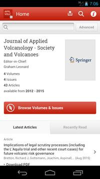 Journal of Applied Volcanology poster
