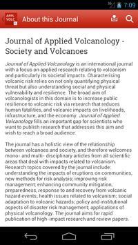 Journal of Applied Volcanology screenshot 2