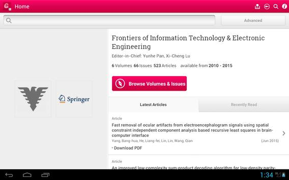 Front Inform Tech Electron Eng screenshot 6