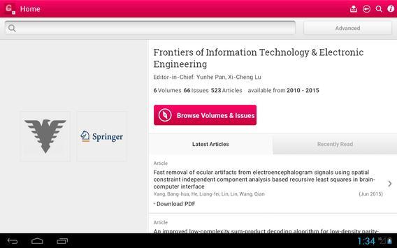 Front Inform Tech Electron Eng screenshot 9