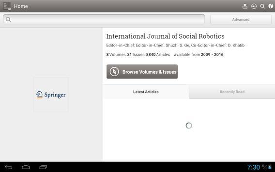 Social Robotics apk screenshot