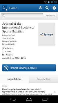 J Int Society Sports Nutrition poster