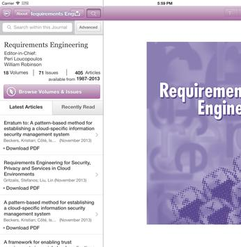 Requirements Engineering poster