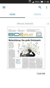 BDI aktuell poster