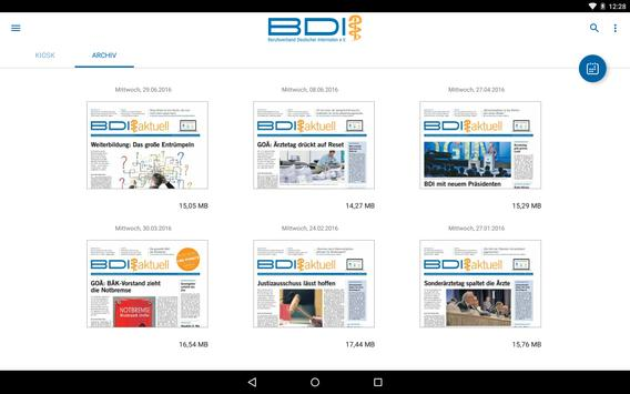 BDI aktuell screenshot 9
