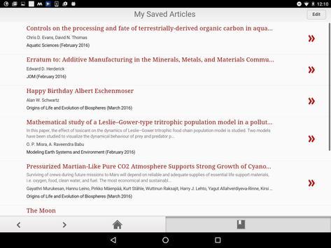 British Library SpringerLink apk screenshot
