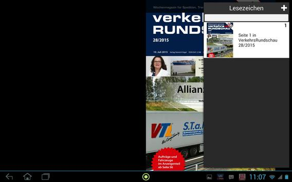 Verkehrs Rundschau screenshot 14