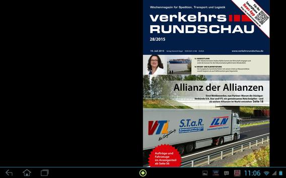 Verkehrs Rundschau screenshot 10