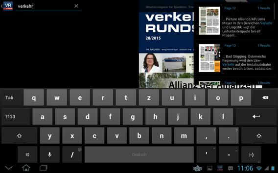 Verkehrs Rundschau screenshot 13