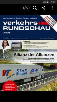 Verkehrs Rundschau screenshot 1