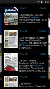 Verkehrs Rundschau screenshot 2