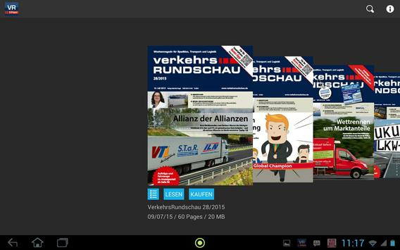 Verkehrs Rundschau screenshot 3