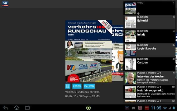 Verkehrs Rundschau screenshot 6