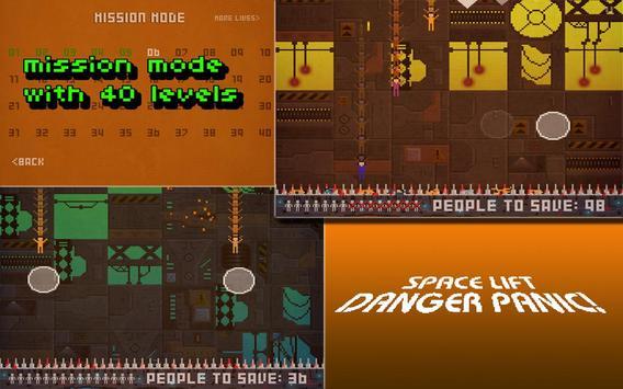 Space Lift Danger Panic! screenshot 1