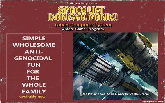 Space Lift Danger Panic! screenshot 2