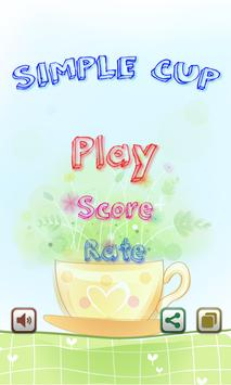 Simple Cup poster