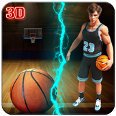 Play Real Basketball 3D 2016 icon