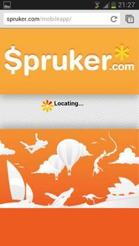 Spruker poster