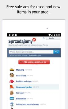 Sprzedajemy.pl - free local advertisements. screenshot 8