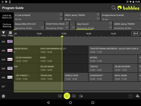 bobblesTV - your home TV app screenshot 7