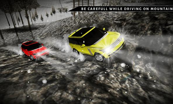 Offroad 4x4 Rover Snow Driving screenshot 1