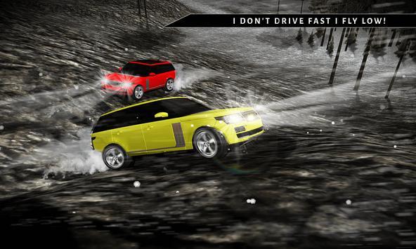 Offroad 4x4 Rover Snow Driving screenshot 2