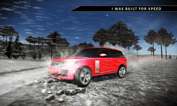 Offroad 4x4 Rover Snow Driving screenshot 3