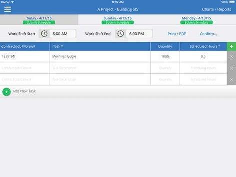 SIS® Short Interval Scheduling screenshot 1