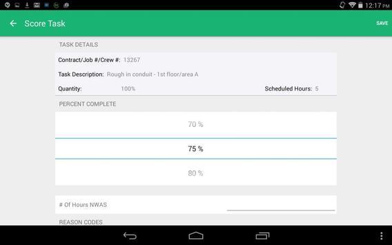 SIS® Short Interval Scheduling apk screenshot
