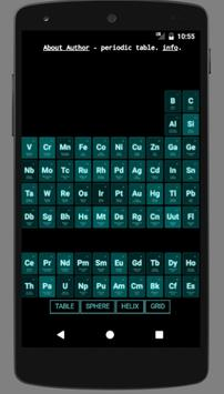 3d periodic table poster 3d periodic table apk