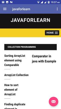 Javaforlearn poster