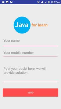 Javaforlearn screenshot 3