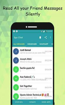 SpyChat: No más notificaciones de mensajes vistos Poster