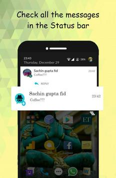 SpyChat: No más notificaciones de mensajes vistos captura de pantalla 1
