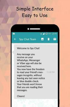 SpyChat: No más notificaciones de mensajes vistos captura de pantalla 2