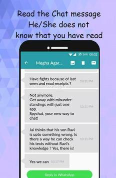 SpyChat: No más notificaciones de mensajes vistos captura de pantalla 5