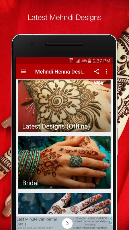 Arabic Mehndi Designs Latest 2018 Simple Easy For Android Apk