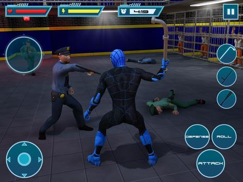 Flying Spider hero survival battle war fight screenshot 5