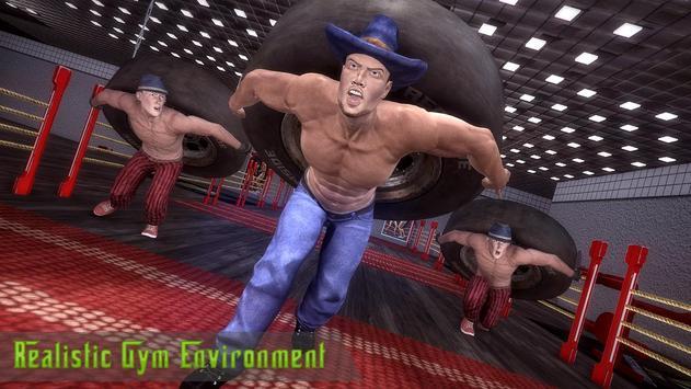 Vegas Mafia god training fight poster