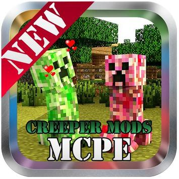Creeper Mod For Minecraft poster