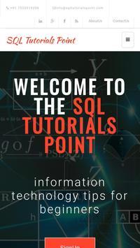 Sql Tutorials Point poster