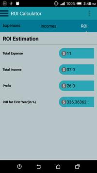 App ROI Calculator apk screenshot