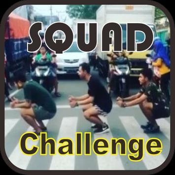 Lagu Squad Challenge poster