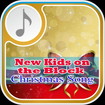 New Kids on the Block Christmas Song poster