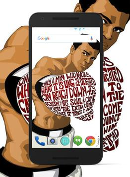 Muhammad Ali Wallpaper HD screenshot 2