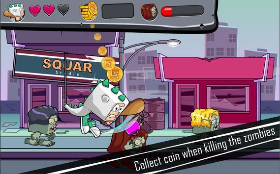Squarteam: Kick The Zombies apk screenshot