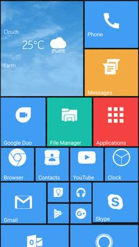 Square Launcher Home 10 poster