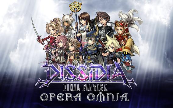DISSIDIA FINAL FANTASY OPERA OMNIA poster