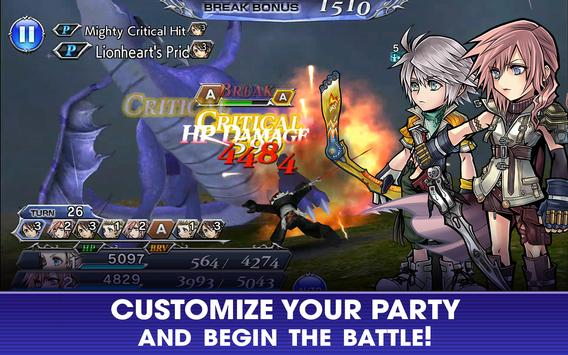 DISSIDIA FINAL FANTASY OPERA OMNIA screenshot 2